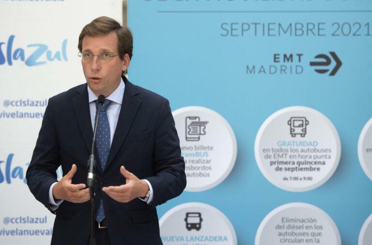 Almeida dice que Ayuso no le comunicó que presentaría su candidatura al PP de Madrid: «Tampoco tenía que llamarme»