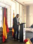 El líder de Vox en Catalunya, Ignacio Garriga, durante la Diada