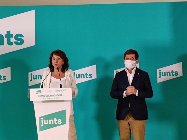 """Sànchez (Junts) remarca su compromiso con ERC para la estabilidad del Govern: """"No hay deslealtad"""""""