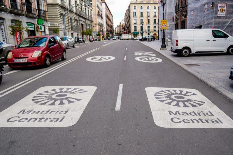 El Ayuntamiento de Madrid tiene diez días para anular Madrid Central