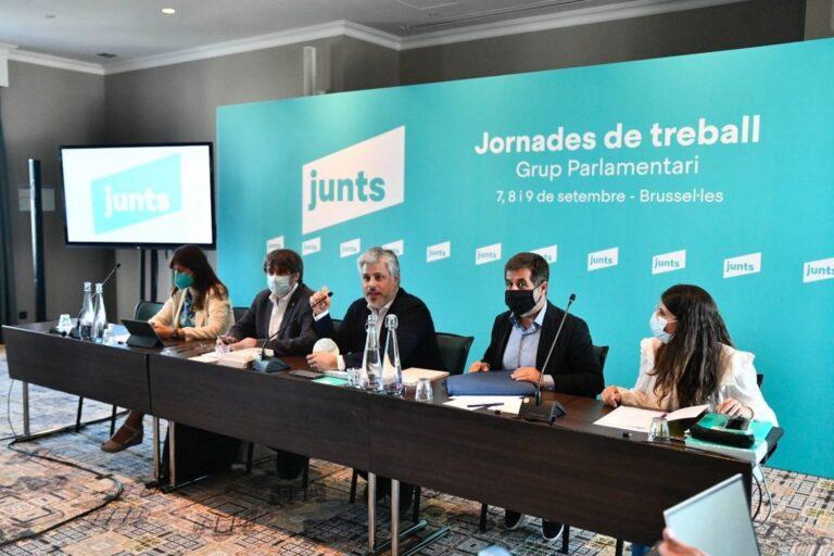 """Junts insiste: """"Sánchez debe encabezar la mesa de diálogo si es de negociación"""""""