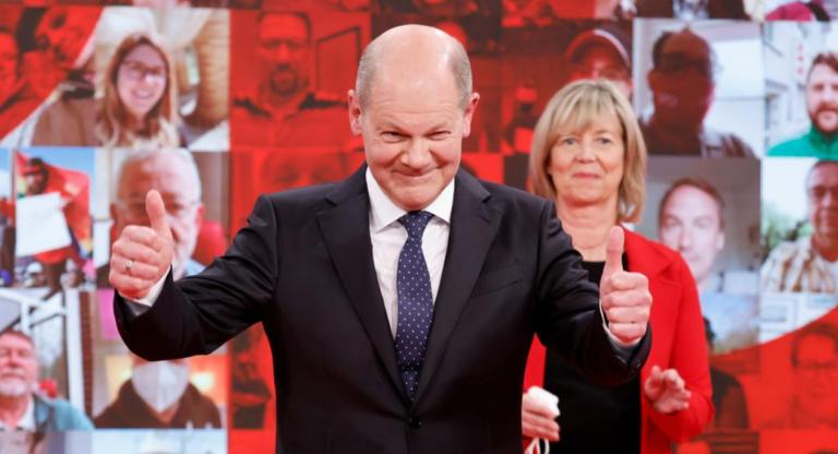 Los socialdemócratas alemanes ganan las elecciones y son favoritos para liderar la coalición de gobierno
