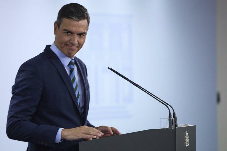 Sánchez: «Cuando acabe 2021 se habrá pagado de luz lo mismo que en 2018»