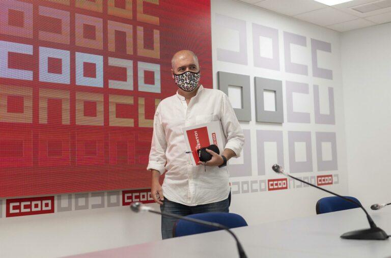 Sordo (CCOO) da por agotadas las negociaciones del SMI y pide a Sánchez que se pronuncie