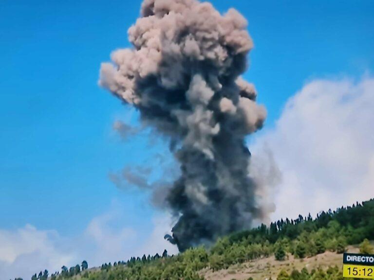 Se registra una erupción volcánica en La Palma: Cumbre Vieja ha despertado