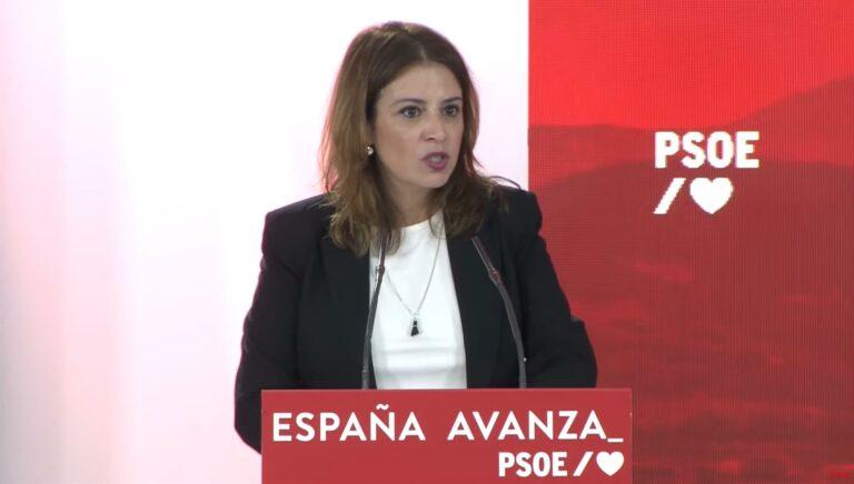 """Lastra asegura que Casado """"ha conseguido retratarse"""" en la Convención Nacional del PP: """"Ha insultado hasta al Papa"""""""
