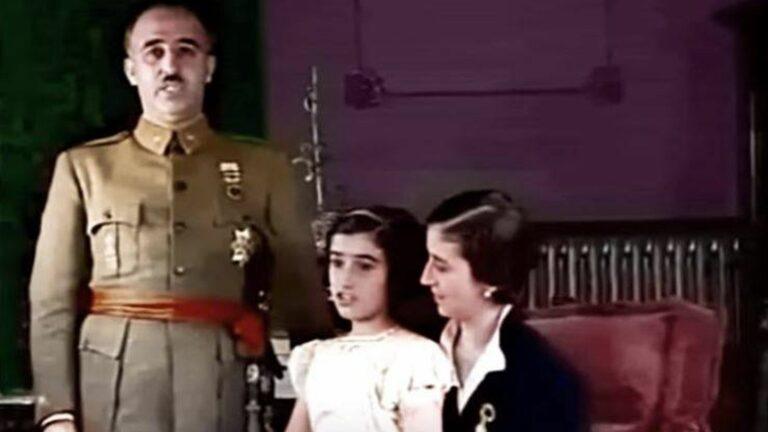 Mediaset difunde grabaciones de la familia Franco que dinamitarían toda su historia