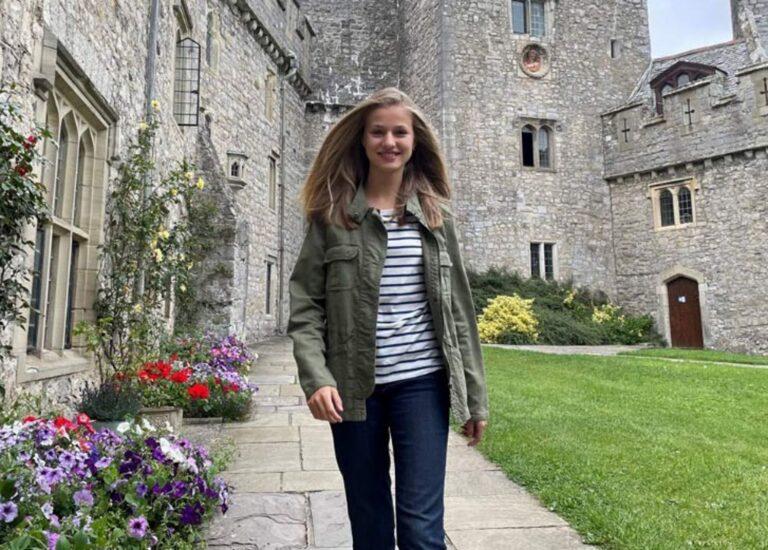 La Princesa Leonor no estará en los actos del 12 de Octubre por las normas sanitarias de su colegio