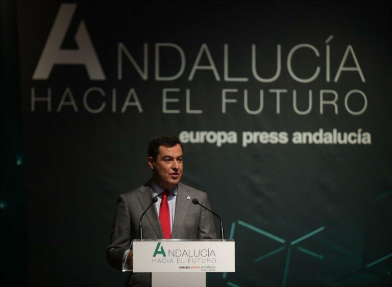 """Juanma Moreno subraya que Andalucía puede ser """"motor de España"""""""
