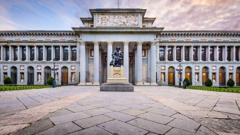 Encierro de víctimas del aceite de colza en el Museo del Prado